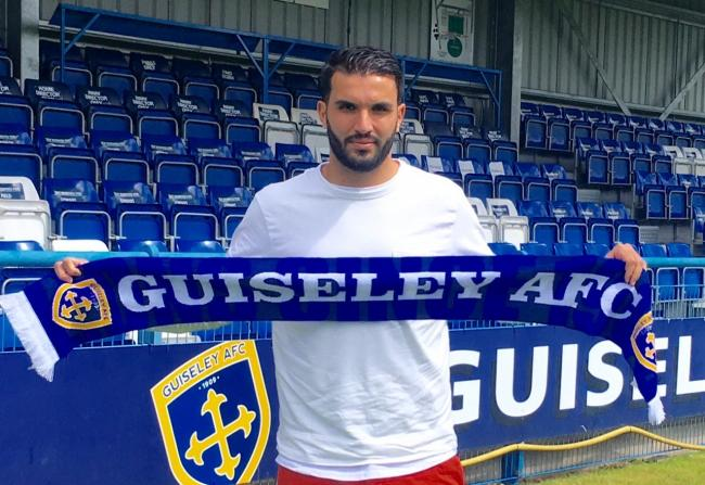 Guiseley have signed experienced centre-back Hamza Bencherif