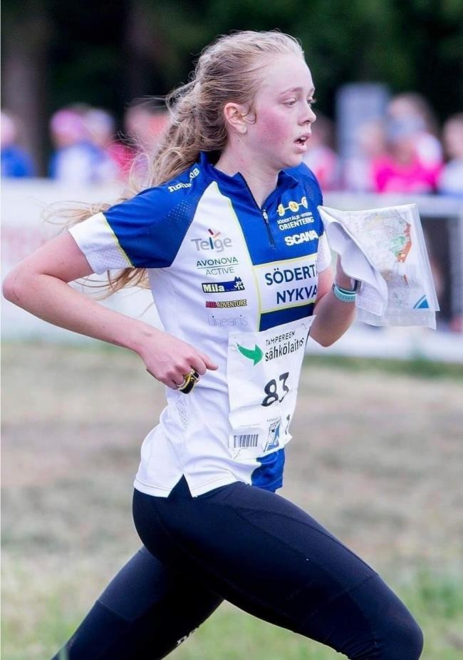 Laura King of Ilkley will represent Great Britain at the 2019 Junior World Orienteeting Championships in Denmark