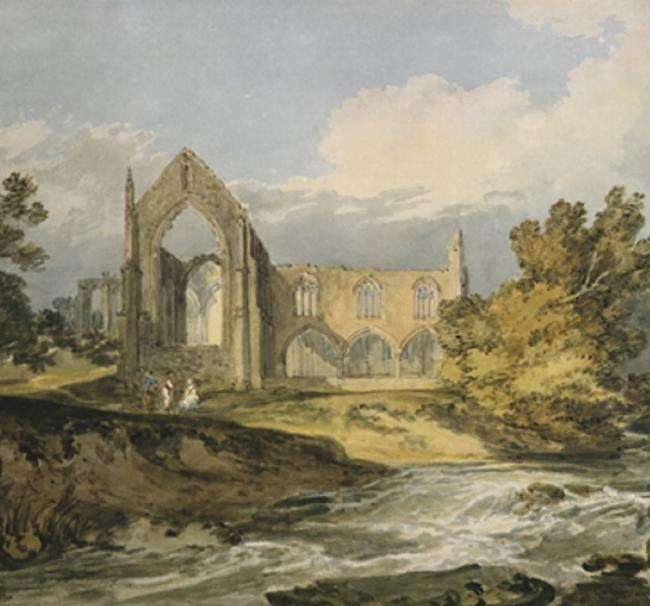 Bolton Priory, by John Turner