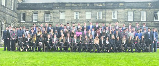 Woodhouse Grove School's Class of 2019
