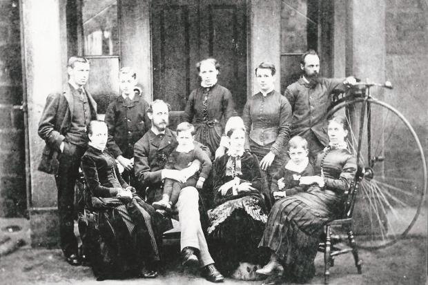 Friends School staff 1897