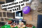 One of the Yazz coffee mornings