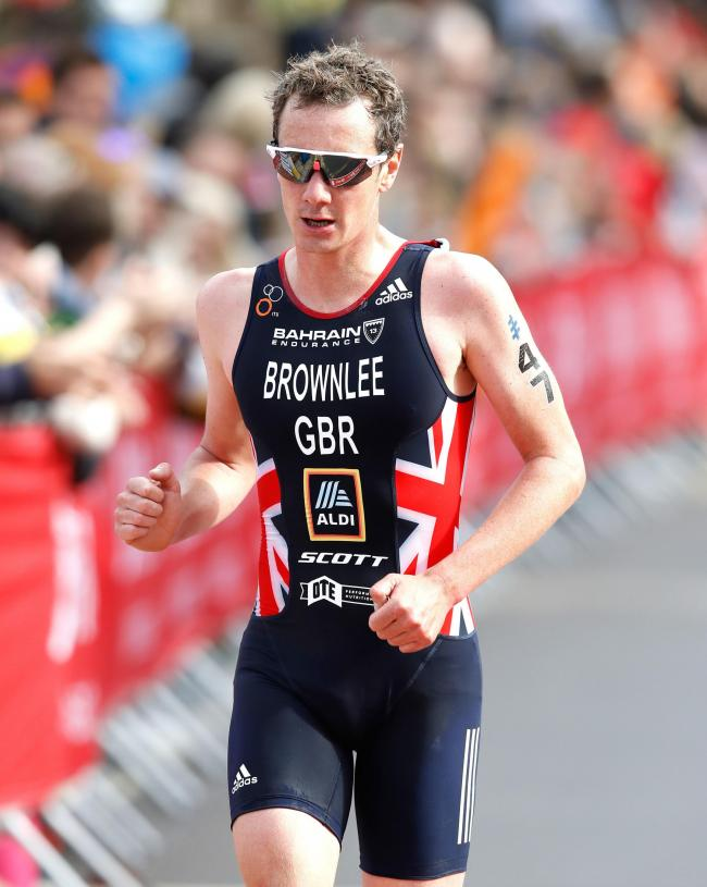 Alistair Brownlee in the Elite Men's race during the 2019 ITU World Triathlon Series Event in Leeds. PRESS ASSOCIATION Photo. Picture date: Sunday June 9, 2019. Photo credit should read: Martin Rickett/PA Wire.