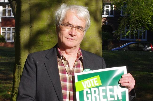 The Green Party's Parliamentary candidate for Leeds North West, Dr Martin Hemingway