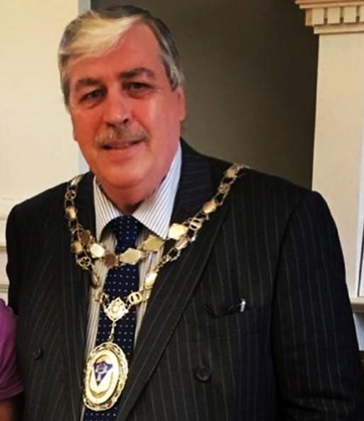 Otley Town Mayor Peter Jackson