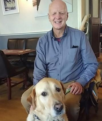 Guide Dogs fundraiser Kevin Beesting