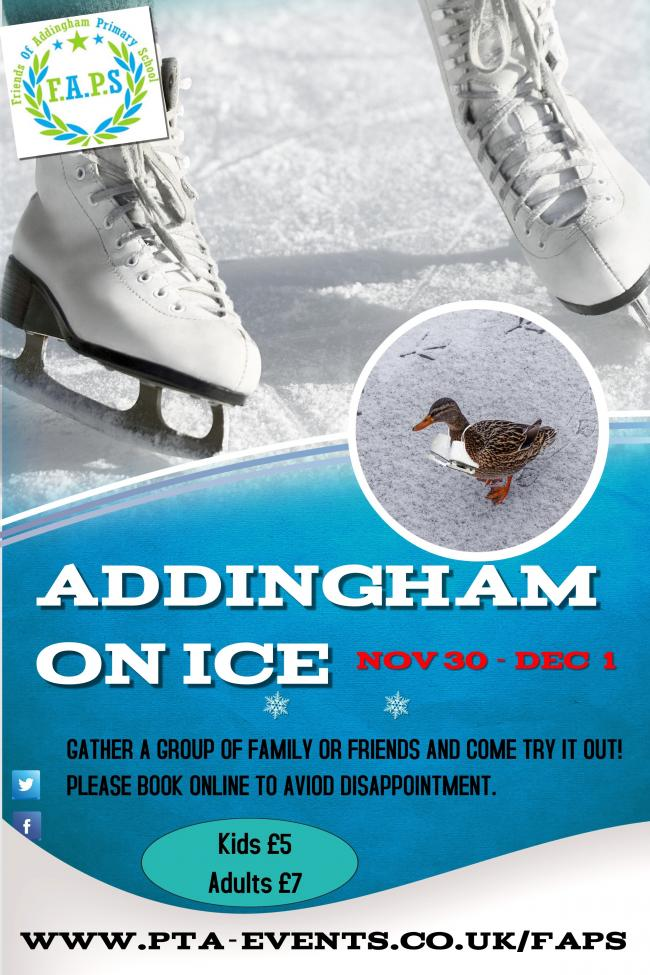 Addingham on Ice takes place this weekend
