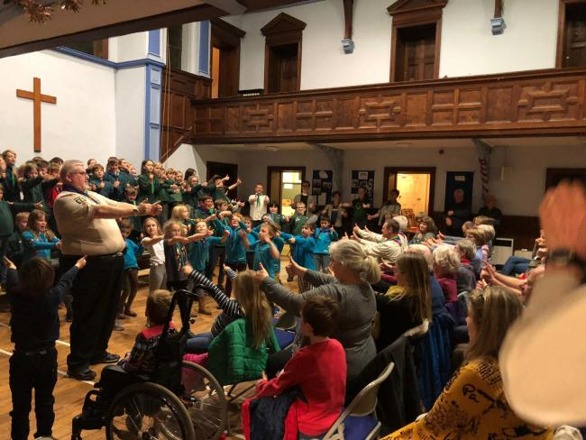 2nd Otley Scouts Group's Gang Show extravaganza