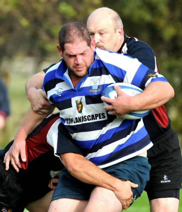 Wharfedale Observer: Rob Arbuckle got a derved try