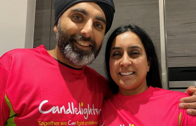 Preparing for Kilimanjaro - Gurjit and Raj Singh