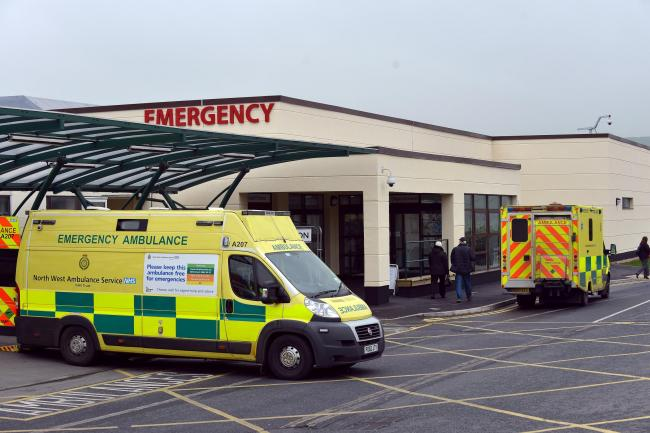 Airedale Hospital A&E where 93.7 per cent of patients were seen within the target time in July