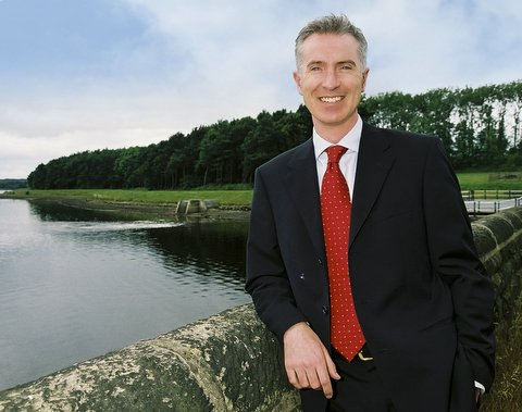 Yorkshire Water chief executive Richard Flint