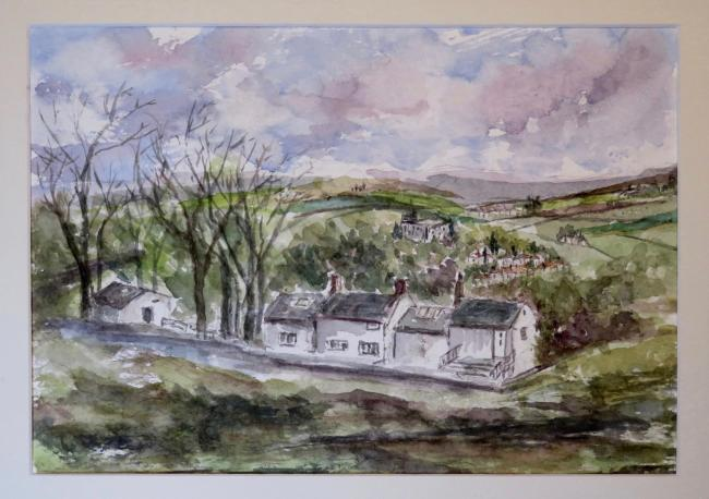 White Wells by Kwan Bevan which was auctioned to raise money for charity