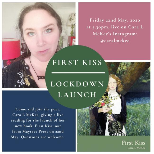 First Kiss is having a lockdown book launch on Friday