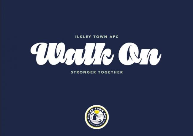 The initiative's slogan 'Walk on' comes from the famous Gerry And The Pacemakers song 'You'll Never Walk Alone'.