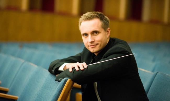 Conductor Vasily Petrenko, courtesy of Royal Liverpool Philharmonic Orchestra