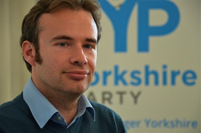 The Yorkshire Party's leader, Bob Buxton