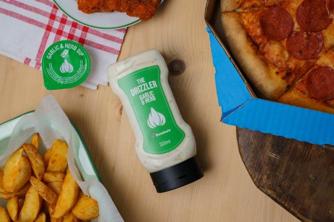 Domino's Pizza launch 'limited-edition' garlic sauce bottles. Picture: Domino's Pizza
