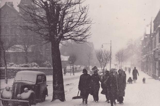 The winter of 1947..