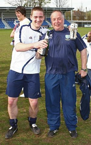 James Cotterill (left) and boss Steve Kittrick
