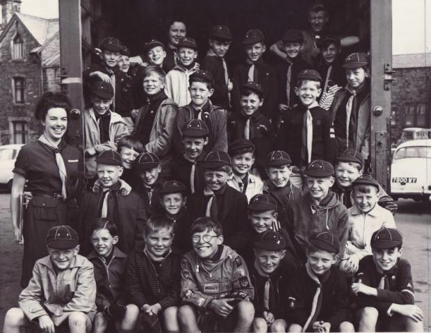 Blast from the past - Boys of the 1st Ben Rhydding Wolf Cubs Pack, who enjoyed a trip to the Yorkshire Dales in June 1963. The boys visited Hag Dyke, where they had a sing-song around the camp fire and did a short hike to the top of Great Whernside.