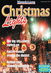 Wharfedale Observer: christmas lights
