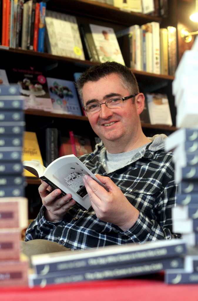 Mike Sansbury, assistant manager of  The Grove Bookshop in Ilkley