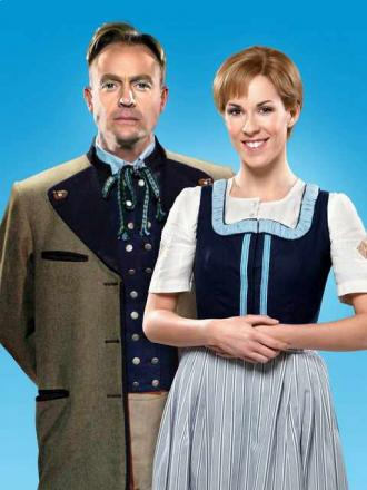 Jason Donovan and Verity Rushworth will star in the Sound of Music at Leeds Grand.