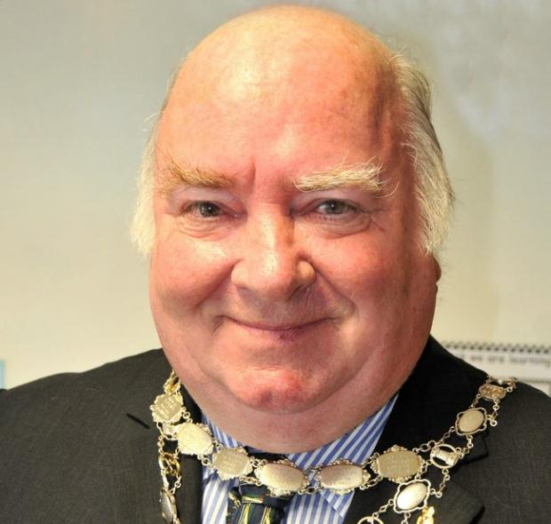 Ray Smith, the former town mayor