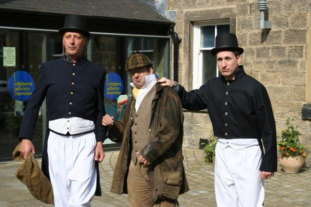 Otley MP Greg Mulholland gets in on the act at a fancy dress event at the Courthouse in 2006.