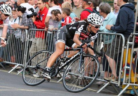 Lizzie Armitstead in action at Otley