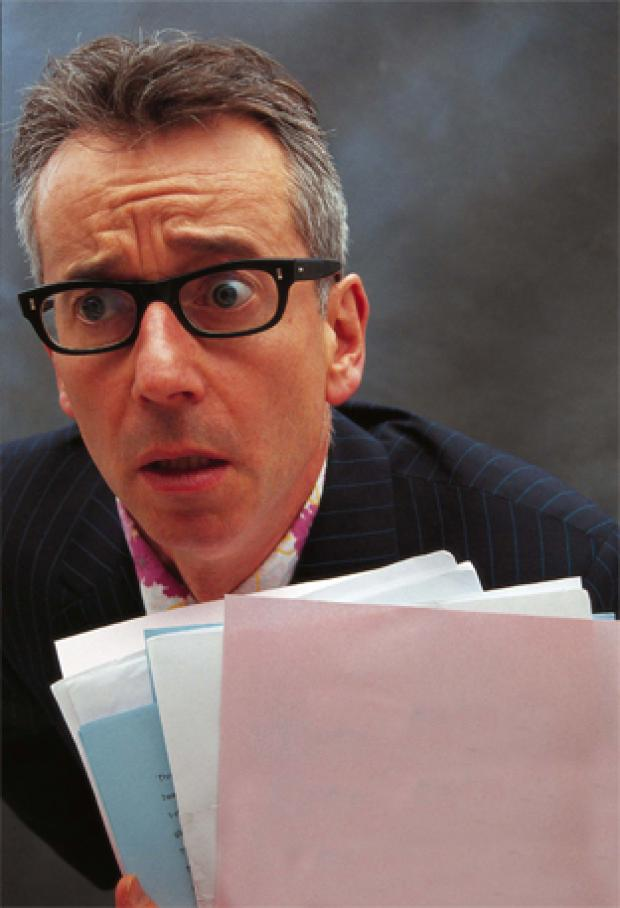Comedian and poet John Hegley is appearing at Otley Word Feast
