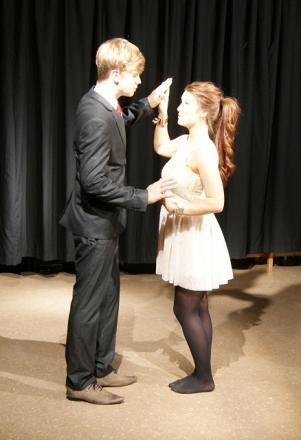 Romeo and Juliet gained positive feedback for the young performers from Horsforth School.