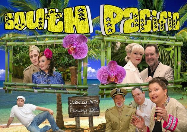 Wharfedale Observer: Guiseley Amateurs' poster for South Pacific