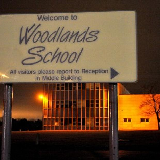 A general view of Woodlands Comprehensive School in Takely End, Basildon, where Leonie Nice died after being hit by a rugby ball