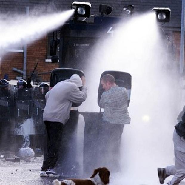 Wharfedale Observer: A review has said water cannon would be available to police in England and Wales in a bid to avoid a return to last summer's rioting