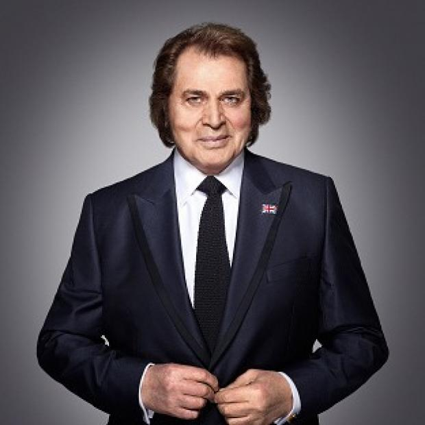 Eurovision singer Engelbert Humperdinck already has his 'eyes on the prize'