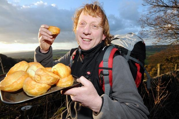 Chef John Bareham, who will be cooking his Yorkshire puddings in Africa. Picture: David Hickes