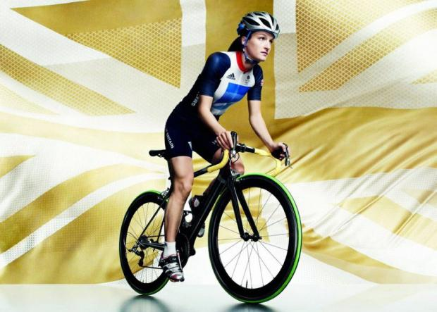 Lizzie Armitstead, seen modelling the GB Team kit designed by Stella McCartney, knows thedre is more pressure on Sunday as she is defending national road race champion