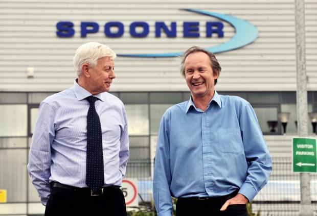 Brian Stockdale and David Ackroyd started working for Spooner aged 15, some 50 years ago, and still work for the firm