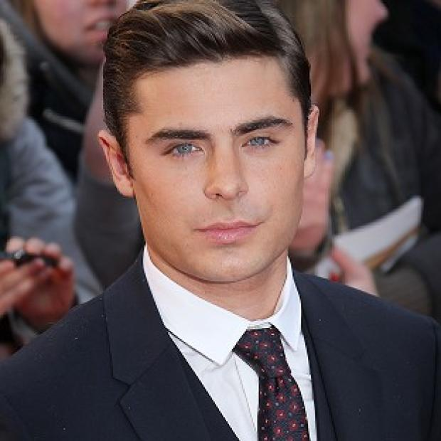 Zac Efron arrives for the European premiere of The Lucky One in London
