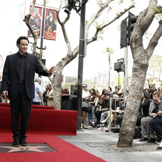 John Cusack has received a star on the Hollywood Walk of Fame in Los Angeles