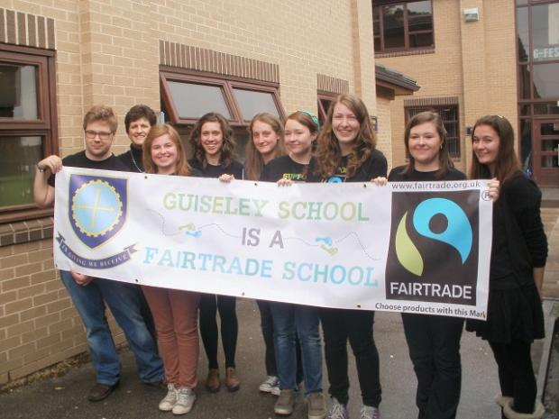 Guiseley School pupils are putting on a fashion show in support of Fairtrade