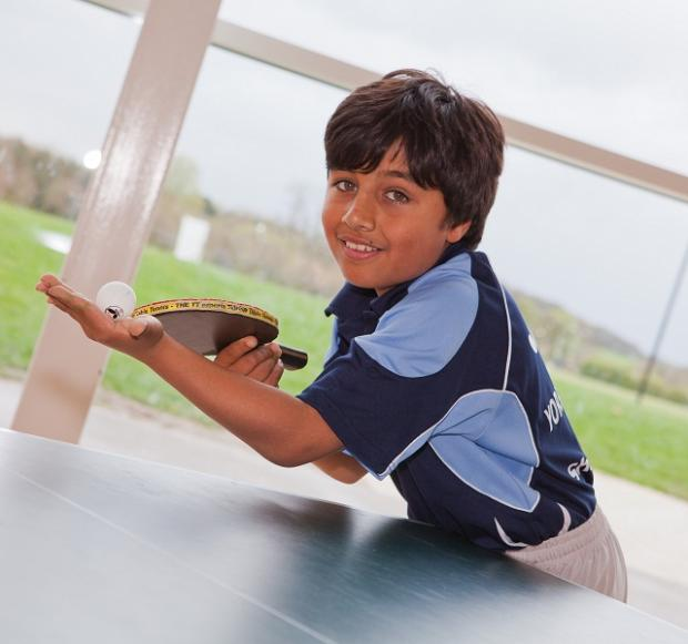Ten-year-old Shayan Siraj took the U11 and U12 titles at the Yorkshire Region table tennis championships in Keighley