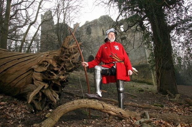 An archer at Harewood Castle Photo Kippa Matthews