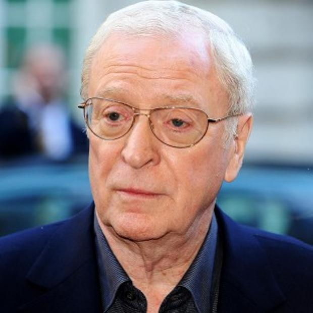 Sir Michael Caine found himself locked in an attic for the night