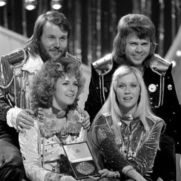 Abba achieved nine number one singles after making their chart debut in 1974 with Eurovision winner Waterloo