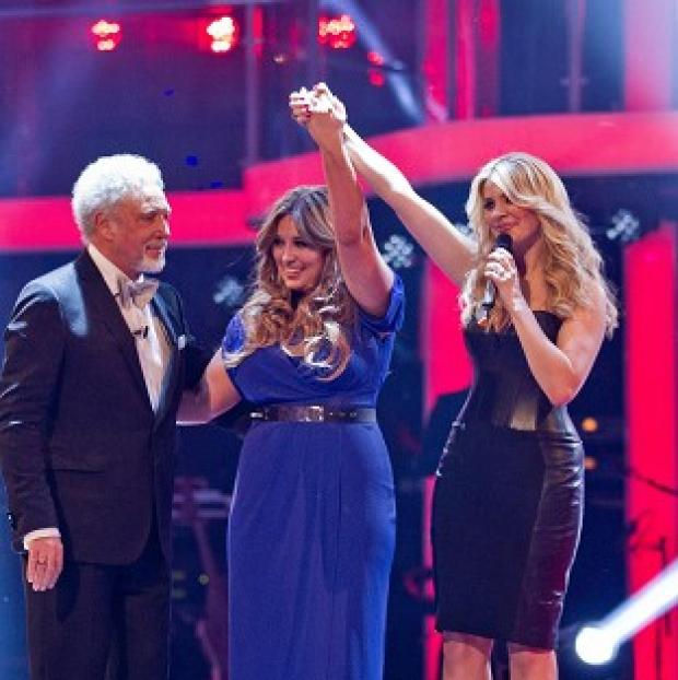 Leanne Mitchell has won the first series of BBC singing show The Voice (Guy LevyBBC/PA)