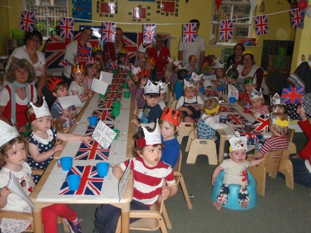 Nursery joins together to mark Diamond Jubilee