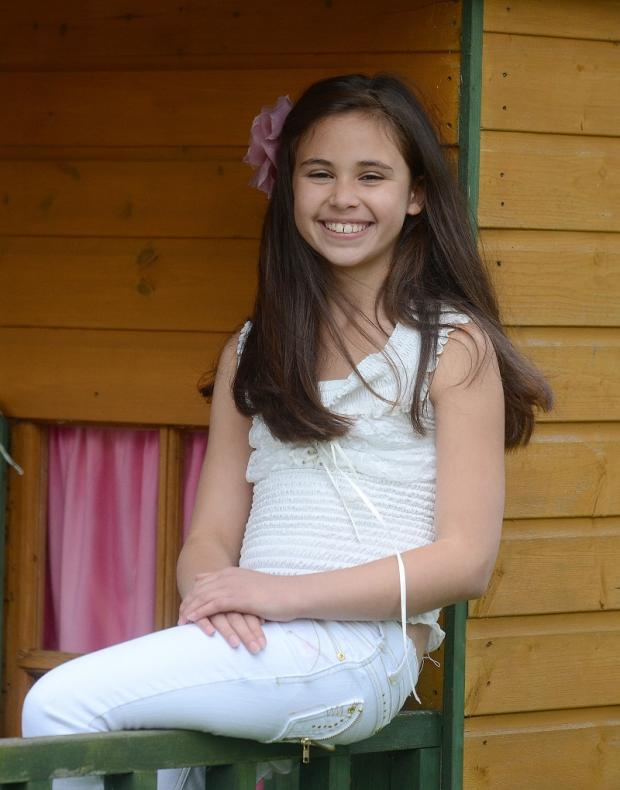 Wharfedale Observer: Teenage fundraiser Bethany Hare from Horsforth